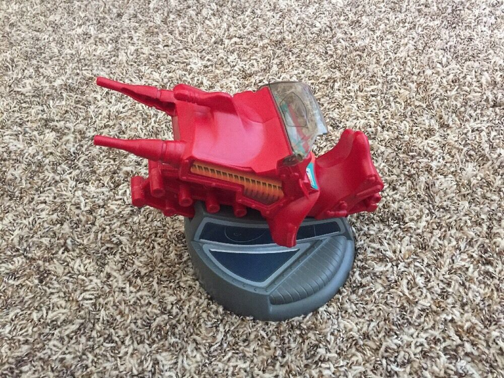 He-Man MOTU  Eternia Big ROT Gun 100% Complete With Ultra Rare Windshield Wow