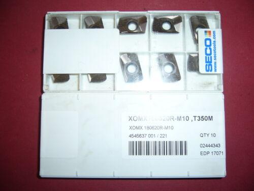 10.Stk Wendeplatten XOMX180620R-M10 T350M ***Neu***