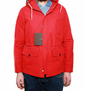 Mens Unlined Made Scotland Soridain Red Mackintosh Model Coat In CRzqxSwd