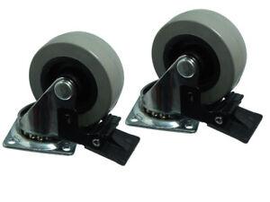 CTN-de-2-placa-fija-INDIVIDUAL-50mm-Ruedas-Para-Plataforma-Movil-GIRATORIAS