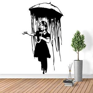 Image Is Loading Banksy Wall Decal Sticker Vinyl Street Art Graffiti  Part 78