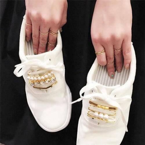 Women Shoelace Buckle Clip Clamp Shoelace Buckle Shoe Decoration H