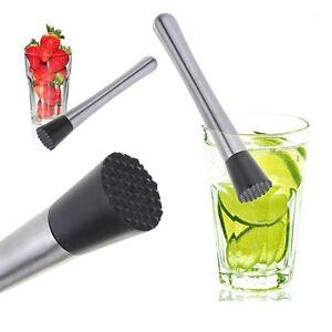 cocktail muddler stainless steel bar accessories mixer