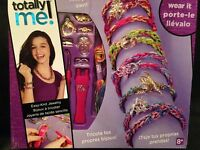 Totally Me Easy Knit Jewelry, Knit Your Own & Wear It Complete Kit -