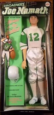 1970 Joe Namath Mego Action Figure New in Box (Special 1 Day Sale)