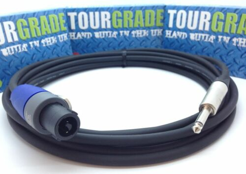Neutrik Speakon to Jack Loudspeaker Cable Lead NP2X NL2FX 1.25mm CUSTOM LENGTHS