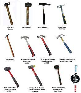 Hammer & Mallet Brick Hammer Club Hammer Pin Hammer Ball ...