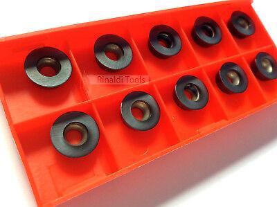 Mit Rechnung! RDKW 12T3MO P25//M20-TIALN- Wendeplatten  NEU 10 Stück Fräsen