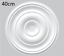 MANY-DIFFERENT-STYLES-LIGHTWEIGHT-CEILING-ROSE-039-S-PAINTABLE