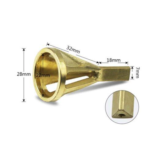 Hex Triangle Shank Remove Burr Drill Bit Deburring External Chamfer Tool