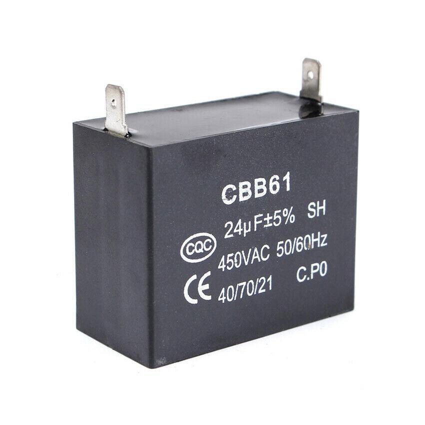 Cbb61 24Uf 350 V Ac Small Gasoline Generator 50//60Hz Sh Capacitor/_jyHA*S