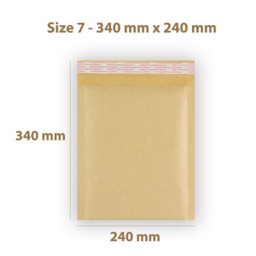Tutte le dimensioni Borse imbottite bolla rivestita enevelopes GOLD Mailer GRATIS P/&P