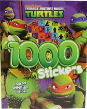 Nickelodeon Teenage Mutant Ninja Turtles 1000 Pegatinas, Nuevo, libro De Nickelodeon