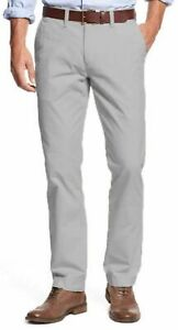 Tommy-Hilfiger-Chino-Pants-Men-039-s-Tailored-Fit-Flat-Front-VARIETY-SZ-CLR-F21