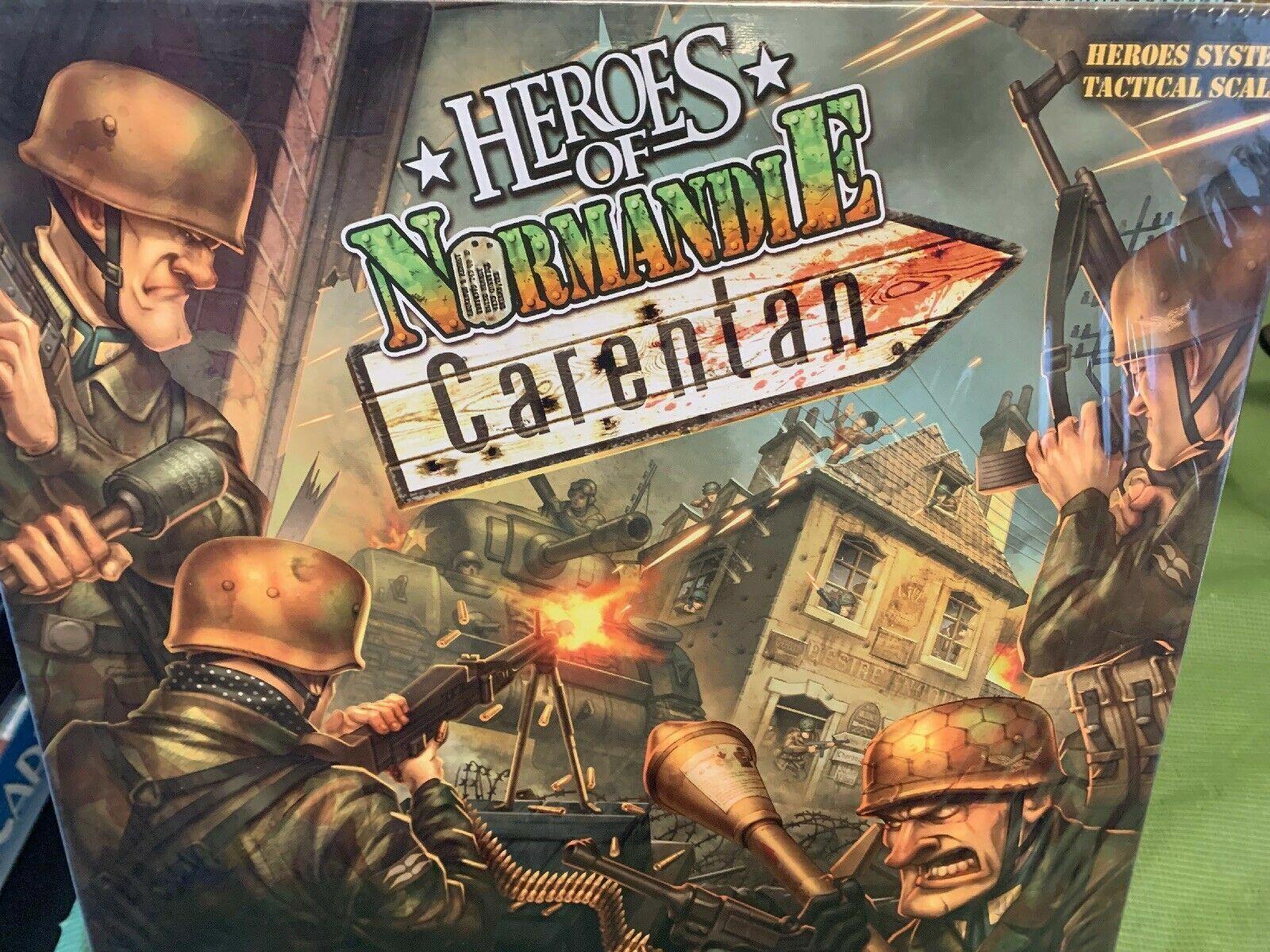 Heroes Of Normandie EXPANSION Carentan Board Game - NEW SEALED