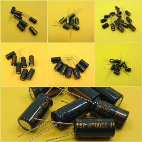 High Frequency 16V Electrolytic Capacitors LowESR Radial Cap Replacement