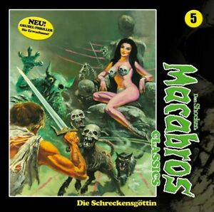 DAN-SHOCKER-MACABROS-CLASSICS-DIE-SCHRECKENSGOTTIN-FOLGE-05-CD-NEW