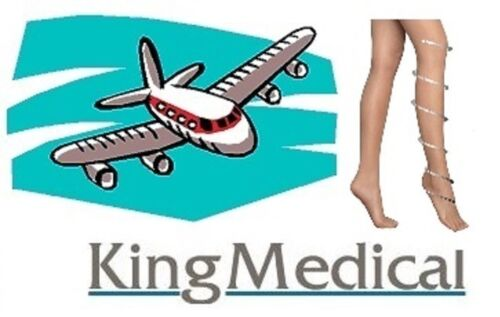 Flight Airplane Aeroplane Travel Tights Pantyhose DVT Reduce Swelling