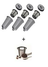 3 My K-Cup Style Reusable Filters for Keurig PLUS FREE EXTRA Basket