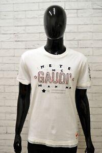 Maglia-GAUDI-Uomo-Taglia-Size-XXL-Maglia-Maglietta-Shirt-Man-Cotone-Manica-Corta