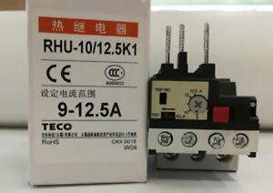 RHU-10//3.2K1 TECO THERMAL OVERLOAD RELAYS NEW IN BOX