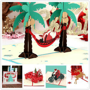 3D-Pop-Up-Card-Christmas-Birthday-Wedding-Valentine-Greeting-Cards-Invitations