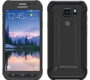 Samsung-Galaxy-S6-active-SM-G890A-32GB-Gray-AT-amp-T-GSM-Used