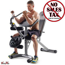 Home Exercise Equipment Machine Gym Total Body Workout Bench Fitness Adjustable
