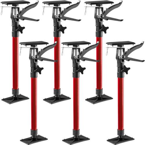 6x Door frame strut telescoping prop door frame clamp frame setting tool red new
