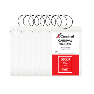 8-PACK-HEAVY-DUTY-Cruise-Luggage-Tag-Holders-Carnival-Princess-Norwegian