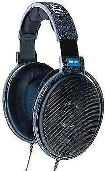 sennheiser hd 600 headband headphones black for sale online ebay. Black Bedroom Furniture Sets. Home Design Ideas