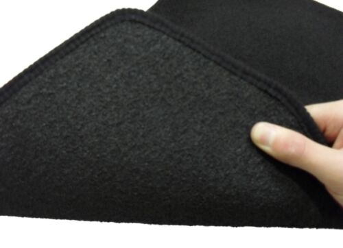 Fully Tailored Deluxe Car Mats in Black. Mercedes C Class Convertible 2016-on
