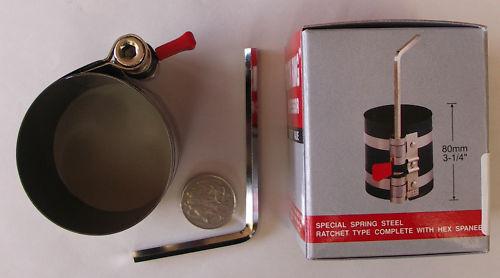 """55-125mm NEW PISTON RING COMPRESSOR 2-1//8/"""" 5/"""" T /& E TOOLS DALLAS"""