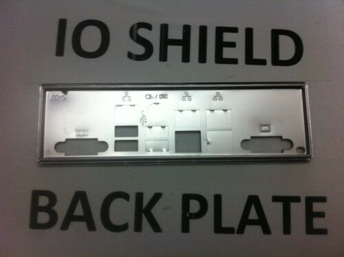*same Day Shipping 3pm*new* Supermicro Io Shield Backplate For X9drl-7f Comfortabel Gevoel