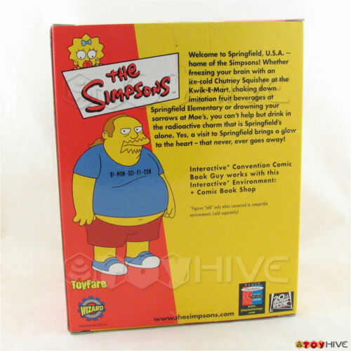 mail away exclusive Simpsons Convention Comic Book Guy World of Springfield