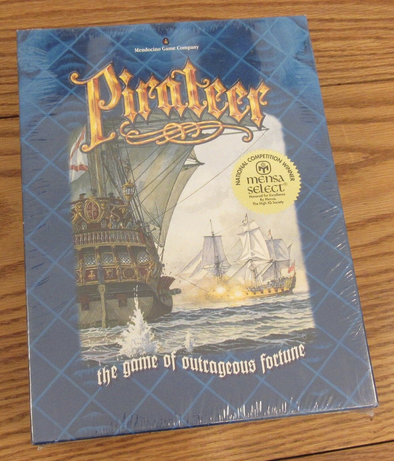 New & sealed Pirateer board game Mendocini  31361 Mensa Select Winner