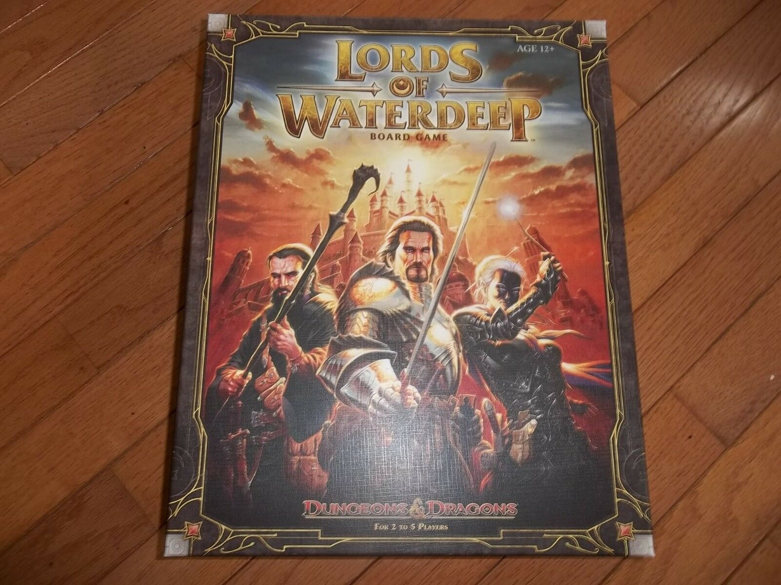 Wizards of the Coast D&D Lords of Waterdeep Board Game