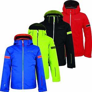 c09da6ef35 Dare2b Seeker Boys Ski Jacket Waterproof Insulated Multi Colours ...