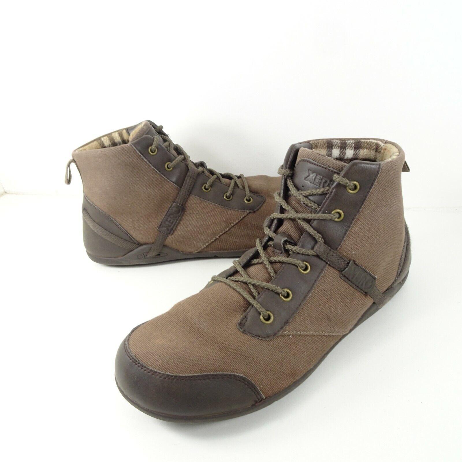 Xero Shoes Brown Minimalist Barefoot Denver Boots Lightweight Mens Size 13