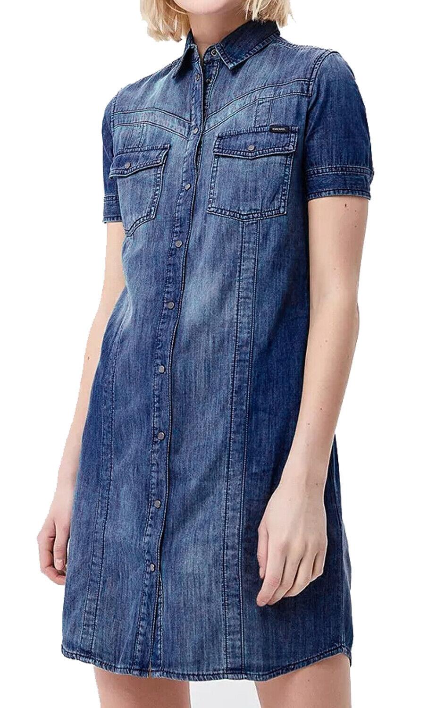 Diesel Tidova Vestito R0m13 Jeans women Vestito