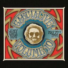 GarciaLive, Vol. 10: May 20th, 1990 Hilo Civic Auditorium [Digipak] * by Jerry Garcia (CD, Feb-2018, 2 Discs, ATO (USA))