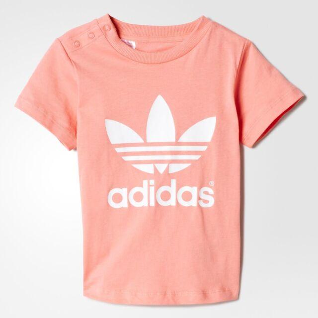 fb51da72f4a0d5 adidas Originals Infant Baby Girls T Shirt - Top 3-6 Months for sale ...