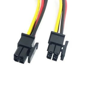 Atx Molex Micro Fit Connector 4pin Male To Male Power