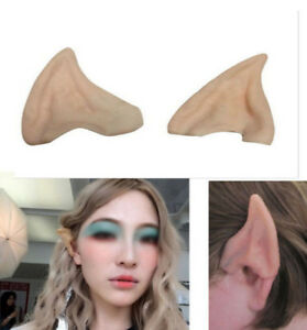 Scary Costumes Fairy elf ears cosplay accessories latex For  Party anime cartoon