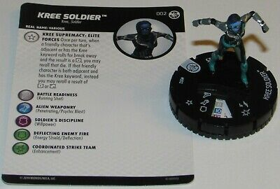 KREE SOLDIER 002 Captain Marvel Movie Marvel HeroClix