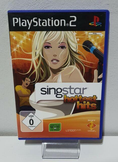 Singstar : Hottest Hits PS2 PLAYSTATION 2 Emballage D'Origine + Manuel A7169
