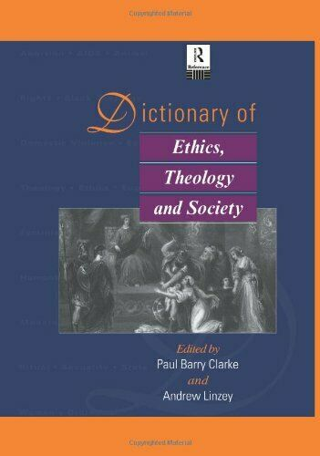 Dictionary of Ethics, Theology and Society (Routle... by Linzey, Andrew Hardback