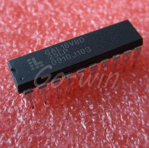 10PCS IC GAL16V8D DIP-20 NEW GAL16V8D-25LP -15LP