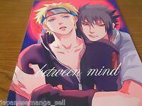 NARUTO yaoi doujinshi Sasuke X Naruto (B5 22pages) Mikayla between mind Mikaira