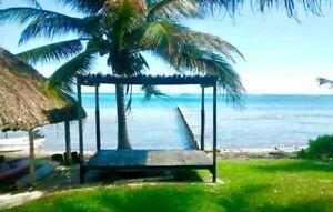 Se vende casa en la orilla de la playa de Xkalac